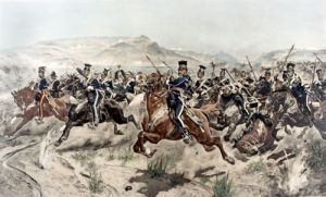 Charge of the Light Brigade, Balaclava by Richard C. Woodville