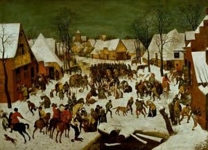 Massacre of the Innocents, 1565 by Pieter Brueghel The Elder