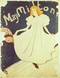 May Milton, France, 1895 by Henri de Toulouse-Lautrec