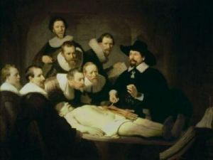 The Anatomy Lesson of Dr.Nicolaes Tulp, 1632 by Rembrandt