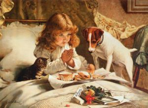 Suspense by Charles Burton Barber