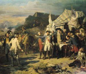 Siege of Yorktown, 1836 by Louis Charles Auguste Couder