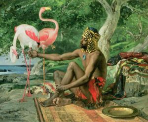 The Nubian Slave by Georgio Marcelli
