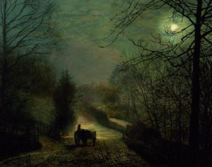 Forge Valley by John Atkinson Grimshaw