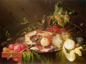 Still Life of Fruit by Jan Davidsz de Heem