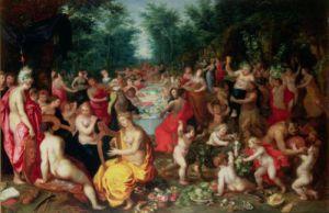 Feast of the Gods by Hendrik Van Balen The Elder