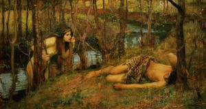 The Naiad, 1893 by John William Waterhouse