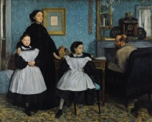 The Bellelli Family, 1858 by Edgar Degas