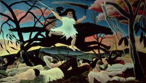 La guerre ou la chevauchee de la discorde by Henri Rousseau
