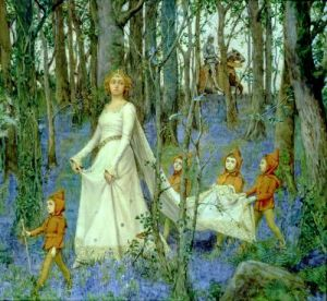 The Fairy Wood by Henry Meynell Rheam