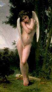 Cupidon, 1891 by Adolphe William Bouguereau