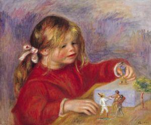 Claude Renoir at Play, 1905 by Pierre Auguste Renoir