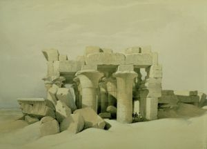 Kom Ombo by David Roberts