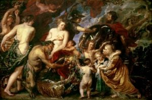Minerva Protects Pax from Mars, 1629 by Peter Paul Rubens