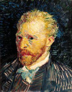 Self Portrait, 1887 (2) by Vincent Van Gogh