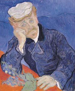 Portrait of Dr Gachet by Vincent Van Gogh