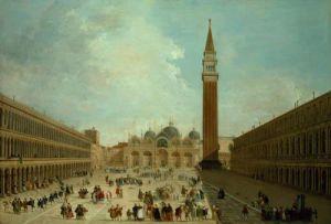 San Marco, Venice by Giuseppe Bernardino Bison