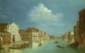 Venetian View by William James