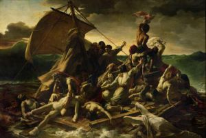 The Raft of the Medusa, 1819 by Jean-Louis-André-Théodore Géricault