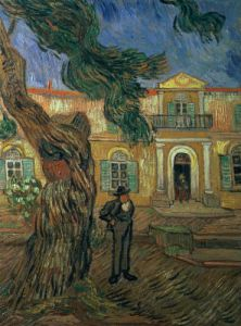 St. Paul's Hospital, St Remy, 1889 by Vincent Van Gogh