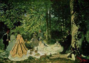 Le Dejeuner sur l'Herbe, 1866 by Claude Monet