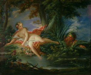 The Bather Surprised by Francois Boucher