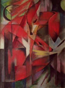 The Fox, 1913 by Franz Marc