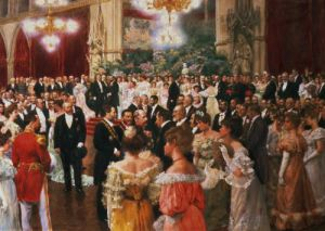 The Viennese Ball by Wilhelm Gause