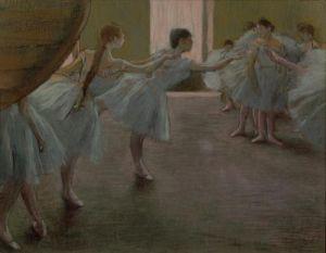 Dancers at Rehearsal, 1875 by Edgar Degas