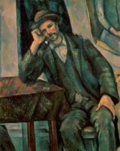 Man Smoking a Pipe, 1890 by Paul Cezanne