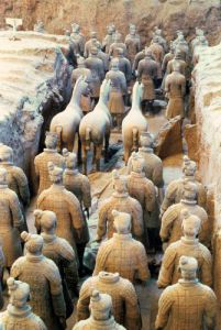 Terracotta Army, Qin Dynasty, 210 BC (Detail) by Anonymous