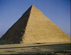 Pyramid of Khafre by Egyptian Art