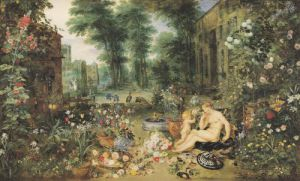 The Sense of Smell by Jan Bruegel The Younger