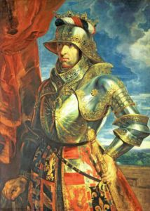 Maximilian I (1459-1519), 1518 by Peter Paul Rubens