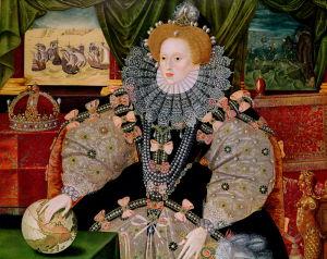 Elizabeth I, Armada Portrait, c.1588 by George Gower