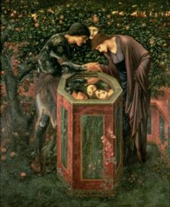 Perseus shows Andromeda the head of Medusa by Sir Edward Burne-Jones