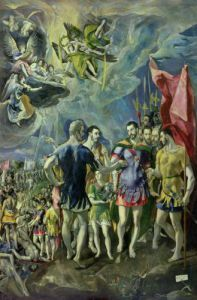 The Martyrdom of St. Maurice, 1580 by El Greco