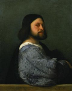 Portrait of a Man, c.1512 by Titian