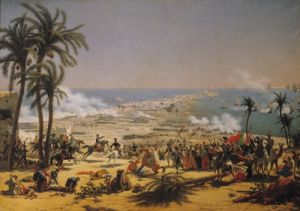 The Battle of Aboukir, 25th July 1799 by Louis Lejeune