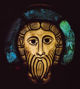 Head of Christ, c.1070 by German School