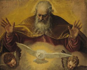The Eternal Father by Paolo Caliari Veronese
