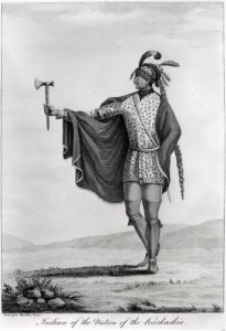Indian of the Nation of Kaskaskia by English or French School