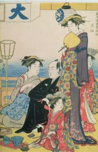 Women of the Gay Quarters by Torii Kiyonaga