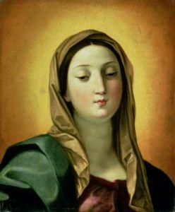 Madonna by Guido Reni