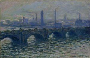 Waterloo Bridge, 1902 by Claude Monet