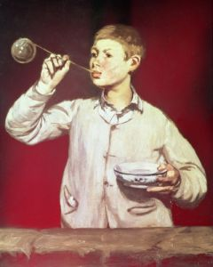 Boy Blowing Bubbles, 1867 by Edouard Manet