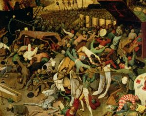 The Triumph of Death, c.1562 by Pieter Brueghel The Elder