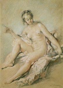 A study of Venus, 1751 by Francois Boucher