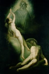 The Creation of Eve, 1791 by Henry Fuseli