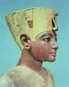 Head of a 'dummy' of the young Tutankhamun by Egyptian Art